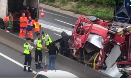 Lyon: il dérobe un camion de pompiers, s'enfuie et se tue avec sur l'autoroute A47