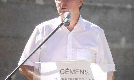 Devant 450 personnes au parc de Gemens: Thierry Kovacs lance la campagne de… 2020