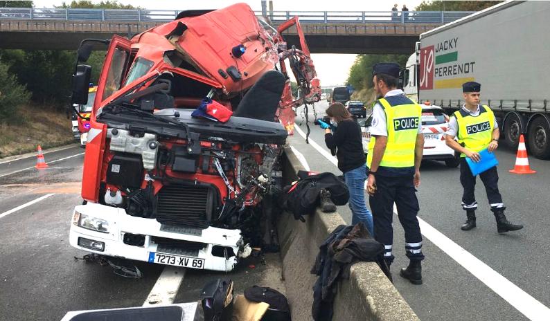Le voleur du camion de pompiers était schizophrène: on connaît le profil du conducteur mort sur l'A47