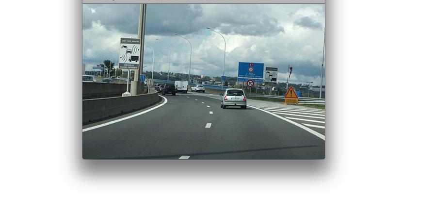 Le radar de Pierre-Bénite sur l'A7, 10ème radar qui flashe le plus en France