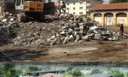 Espace Saint-Germain à Vienne: démarrage des travaux du futur immeuble de bureaux Apollo