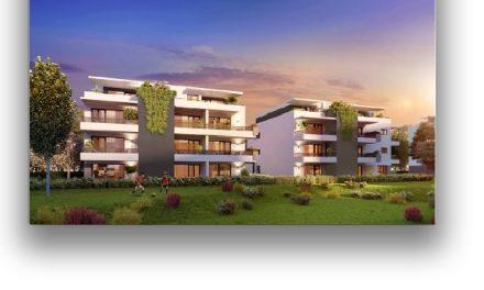 Première pierre: cinq nouveaux immeubles et 92 appartements vont voir le jour quai Pasteur à Vienne