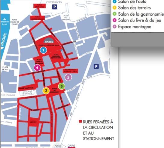 25 000 personnes attendues à la Foire de Vienne ce week-end : le centre-ville fermé à la circulation et au stationnement