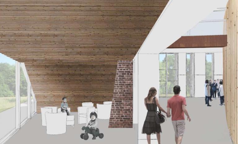 Livraison prévue en mars 2020: gros plan sur la future grande salle des fêtes familiales de Gemens