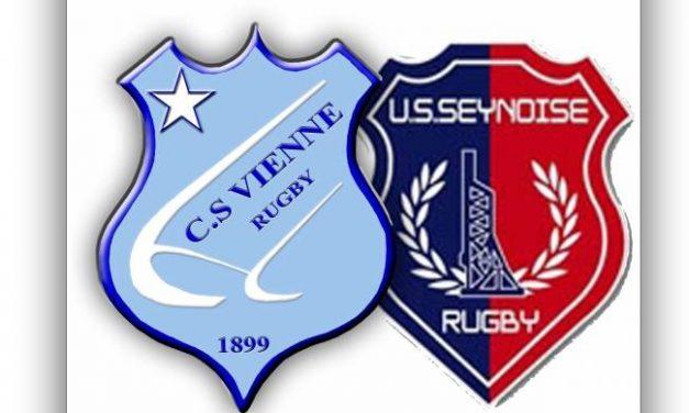 Rugby: les Viennois se donnent de l'air en battant très largement La Seyne à domicile