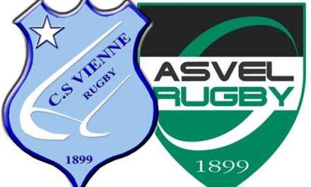 Rugby: 40 à 15, les Viennois coulent face à Villeurbanne