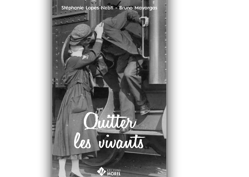 «Quitter les vivants»: le dernier livre des Viennois Bruno Mayorgas et Stéphanie-Lopes-Nebti vient de sortir
