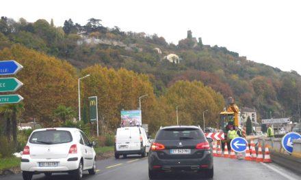 Travaux de la voie verte: une voie unique sur la voie express à partir du mardi 4 décembre…