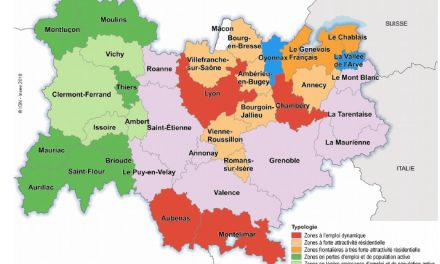 Vienne et Bourgoin sur la deuxième marche des zones d'emploi de la région