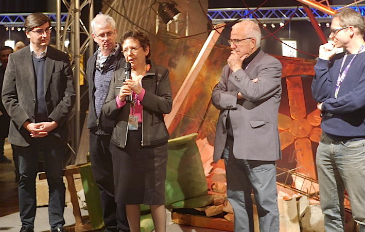 Le jury attribue le Grand prix Sang d'encre à une auteure lyonnaise, Nicole Gonthier