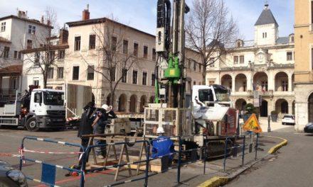 Projet de parking souterrain, place de l'hôtel-de-ville à Vienne: Thierry Kovacs estime avoir un dossier en béton…