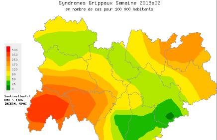 Désormais en phase épidémique: la grippe est arrivée en Auvergne-Rhône-Alpes
