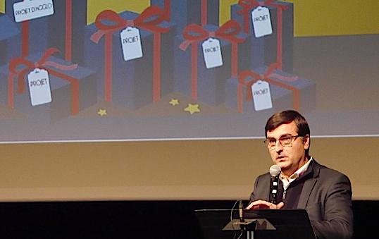 Lors de ses vœux aux élus de l'Agglo, Thierry Kovacs annonce la création d'un parking à l'Espace St-Germain