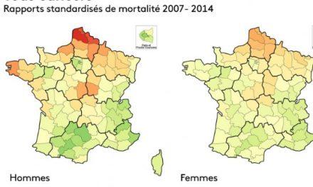Sauf pour celui de la thyroïde, Auvergne-Rhône-Alpes, une des régions les moins touchées par le cancer