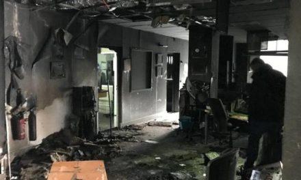 Victime d'un incendie criminel France Bleu Isère réémet normalement ce matin