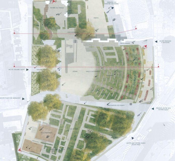 Pour 1,4 million d'euros, Cybèle à Vienne transformé en jardin de ville n°2