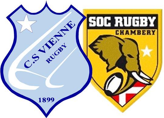 Rugby: à domicile, des Viennois survoltés l'emportent très largement face à Chambéry, bredouille