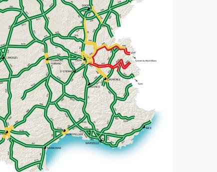 Bouchons annoncés: samedi classé noir sur les routes d'Auvergne-Rhône-Alpes