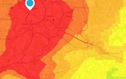 Le niveau est très élevé: vigilance orange aux particules fines sur le Rhône et le Nord-Isère ce matin