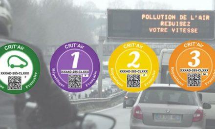 Les vignettes Crit'air obligatoires : circulation différenciée instaurée à Lyon, à partir de demain, 5 heures