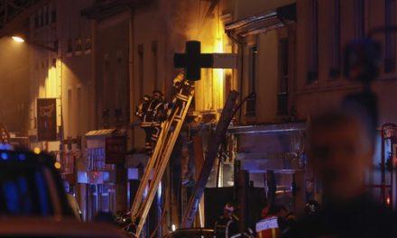 Lyon : une femme enceinte et un enfant décèdent lors d'une explosion, suivie d'un incendie