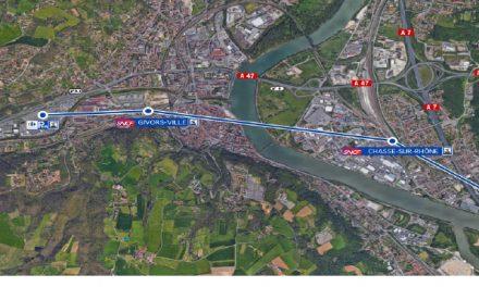 L'excellente idée des Verts qui proposent de construire une télécabine entre Givors et Chasse -sur-Rhône