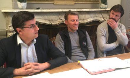 Le bail est signé: Stéphane Ogier et Pierre-Jean Villa sont les deux producteurs du futur «Château Pipet» à Vienne…