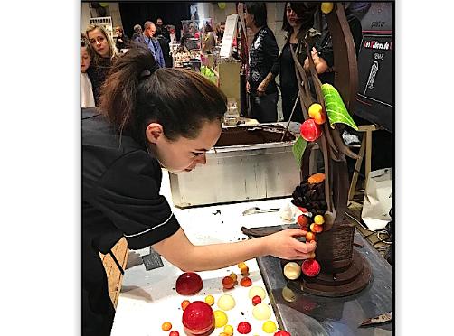 Vienne enchocolatéetout le week-end : premières dégustations au Choco Show demain à 14 heures…