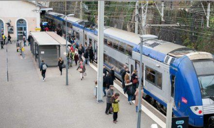 Importants travaux à partir de lundi: circulation des trains pour partie interrompue entre Vienne et Lyon