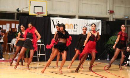 Les 4 et 5 mai, Saint-Romain-en-Gal, cadre d'un championnat du monde de danse, très show