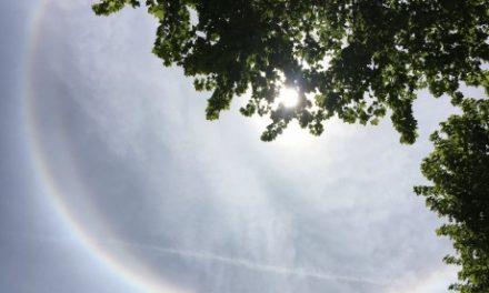 Un bien étrange étrange halo lumineux dans le ciel observé par les Lyonnais et les Nord-Isérois