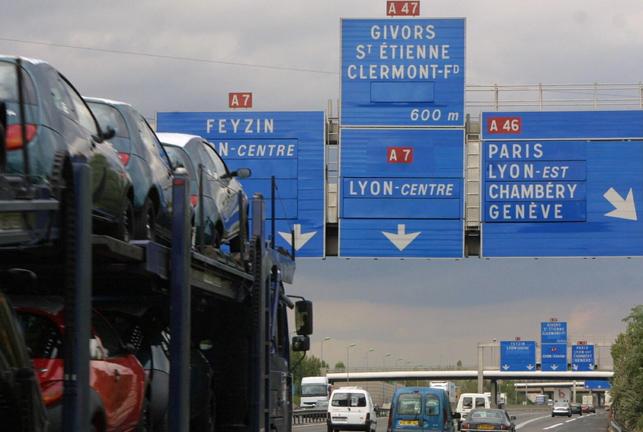 Pont de Givors : grosse pagaille en perspective ces quatre prochains jours sur l'A 47, l'A 46 et l'A7