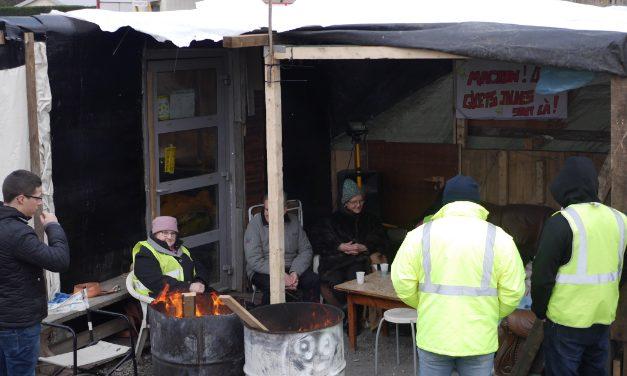 Le propriétaire a subi des«pressions» : les Gilets jaunes s'apprêtent à quitter leur campement d'Estrablin