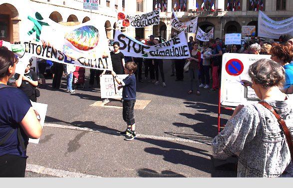 Deux cents à marcher pour le climat samedi matin à Vienne