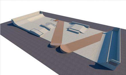 Le skate-park  du Champ-de-Mars à Vienne, en pleine rénovation pour 134 000 euros