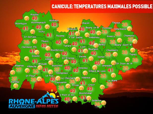Plus forte que celle de 2003 ? Canicule : plus de 40 ° attendus dans le Rhône et l'Isère à partir de demain