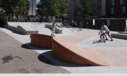 Une nouvelle jeunesse pour le skate-park du Champ-de-Mars à Vienne, inauguré