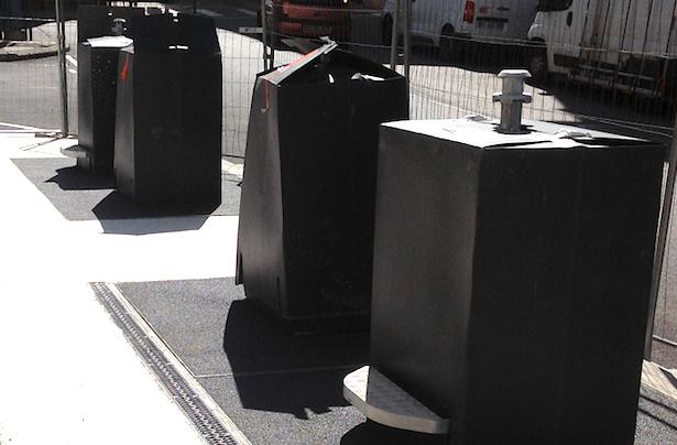 Dixième site à Vienne : les conteneurs enterrés de la place de Miremont seront en service le 13 juin
