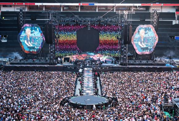 Jean-Michel Aulas annonce la création de «Felyn», un festival de musique au Groupama Stadium !