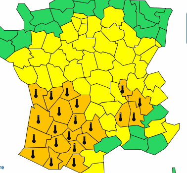 Le phénomène pourrait durer au moins jusqu'à vendredi : vigilance orange canicule sur l'Isère et le Rhône