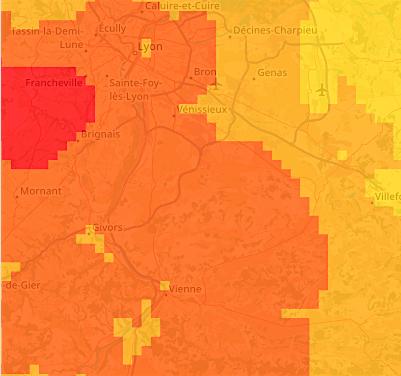 Avec la canicule, revoilà l'ozone dans le Rhône et le Nord-Isère : le niveau information/recommandation enclenché
