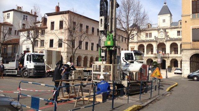 Parking souterrain de la place de l'hôtel-de-ville de Vienne : le tribunal rejette le recours de la mairie
