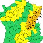 Orages et vents violents : dès cet après-midi, vigilance orange pour le Rhône, jaune pour l'Isère