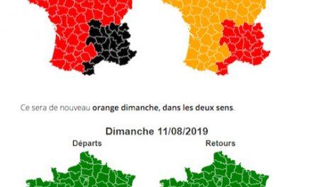 Samedi noir : Bison Futé prévoit des bouchons aujourd'hui en région Auvergne-Rhône-Alpes dans les deux sens