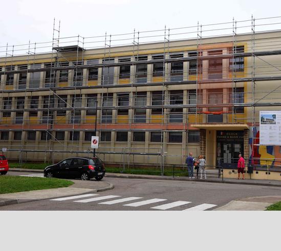 Rentrée scolaire : le «plan écoles» lancé en 2017 à Vienne, d'une durée de dix ans, est dans le clous