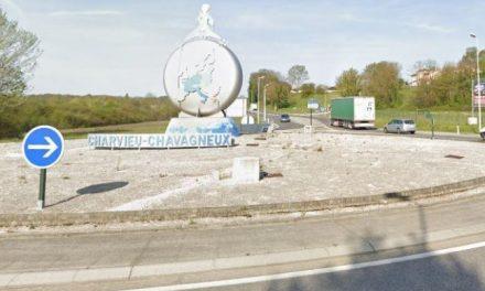 Un jeune motard perd la vie sur un rond-point à Charvieu-Chavagneux