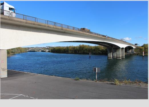 Du fait des travaux en cours, le pont de Givors totalement fermé à la circulation les 19 et 22 août