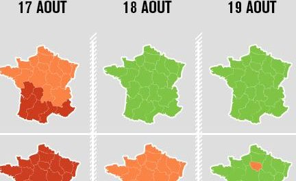 Circulation : samedi et dimanche en rouge en Auvergne-Rhône-Alpes avec une Autoroute A 7 encore très chargée