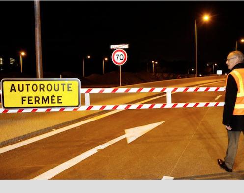 Fermeture nocturne de l'Autoroute A 7 mercredi et jeudi dans le sens Vienne/Lyon