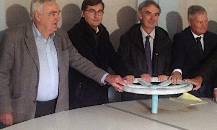 La nouvelle conduite d'eau potable en service à Vienne : elle économise la consommation d'eau de plus de 10 000 familles…